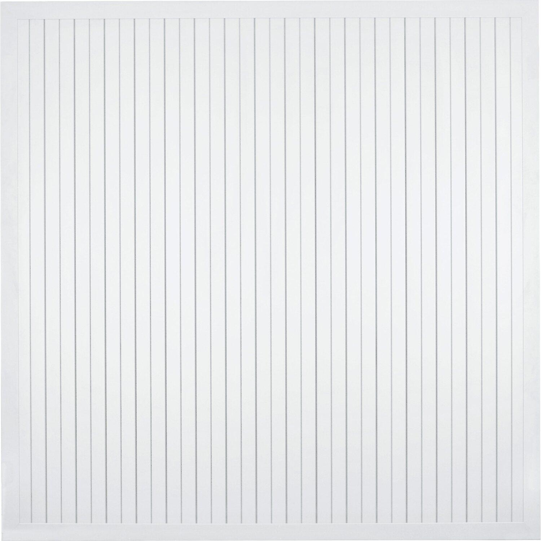T J Sichtschutzzaun Aluline Weiss 180 X 180 Cm Kaufen Bei Obi
