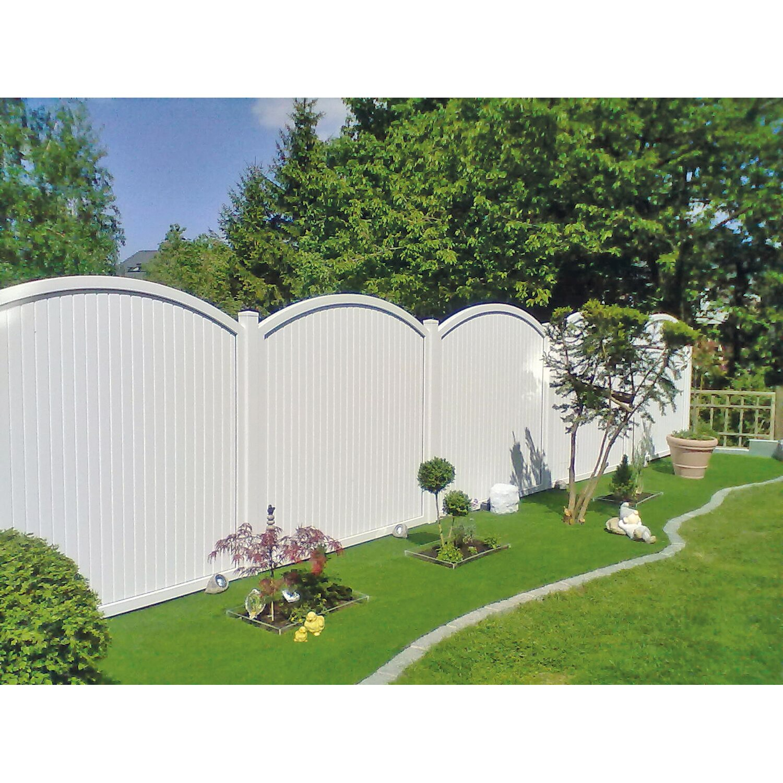 T J Kunststoff Zaunelement Juist 180 X 180 205 Cm Kaufen Bei Obi