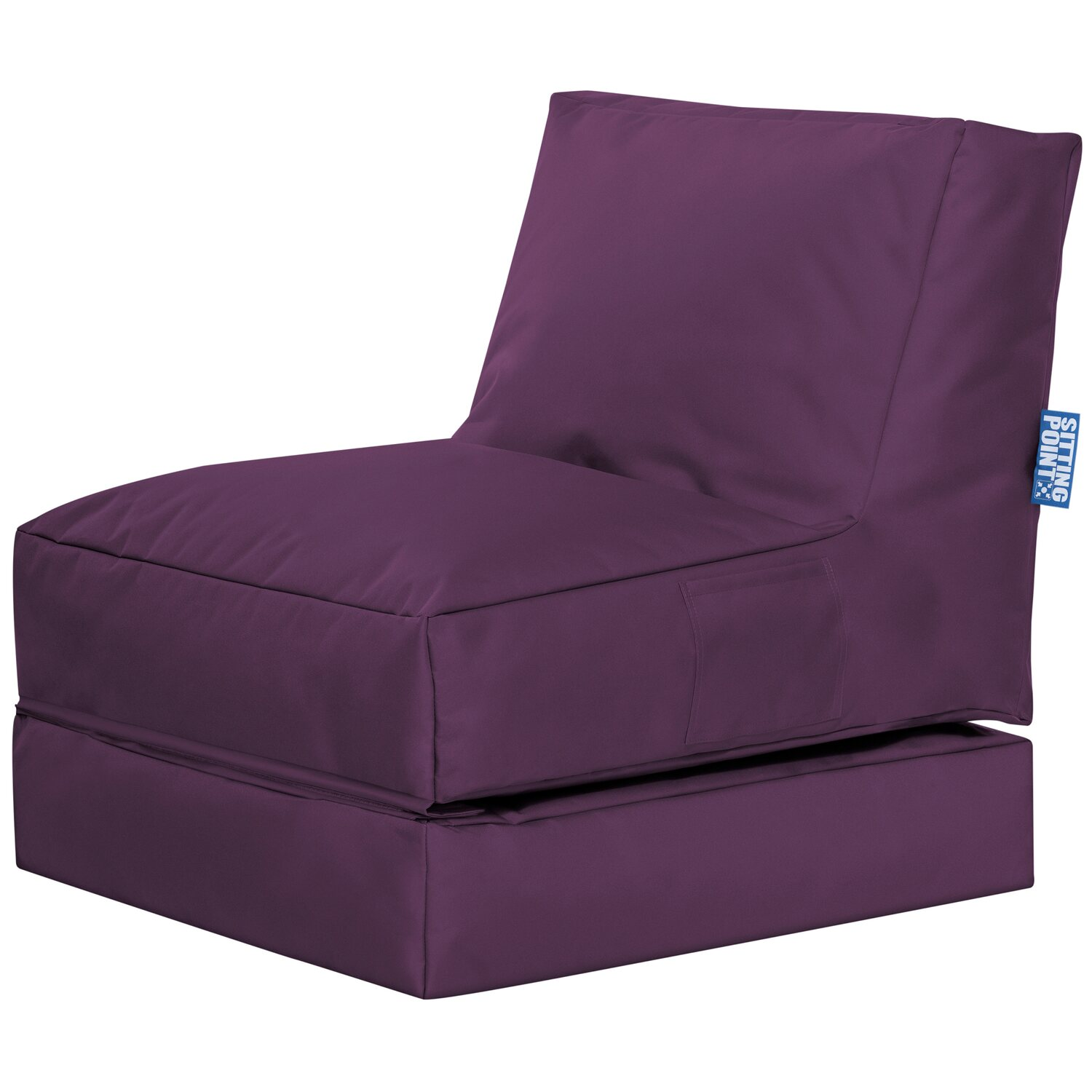 sitting point sitzsack twist scuba aubergine kaufen bei obi. Black Bedroom Furniture Sets. Home Design Ideas