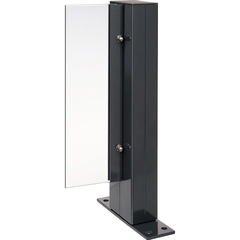 t j aluminium zaunpfosten tejeflex eloxiert 58 92 x 1870 mm kaufen bei obi. Black Bedroom Furniture Sets. Home Design Ideas