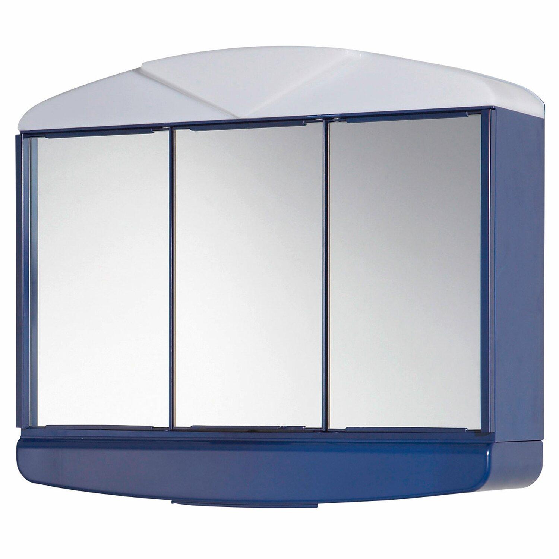 Jokey Spiegelschrank Arcade 58 cm Marinblau EEK B A kaufen bei OBI