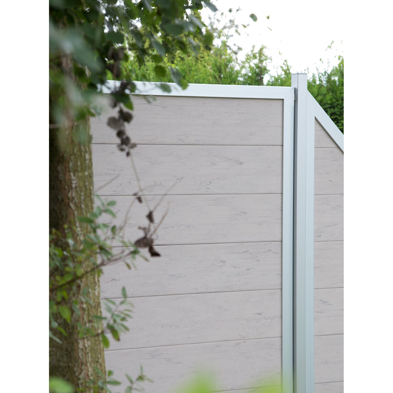 Groja Sichtschutzzaun Viento Quadratisch 180 Cm X 180 Cm X 4 Cm Bi