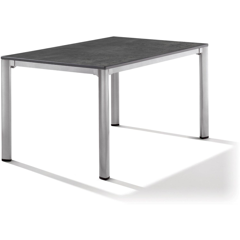 Sieger Loft Exclusiv Tisch Puroplan Graphit 140 Cm X 90 Cm X 74 Cm