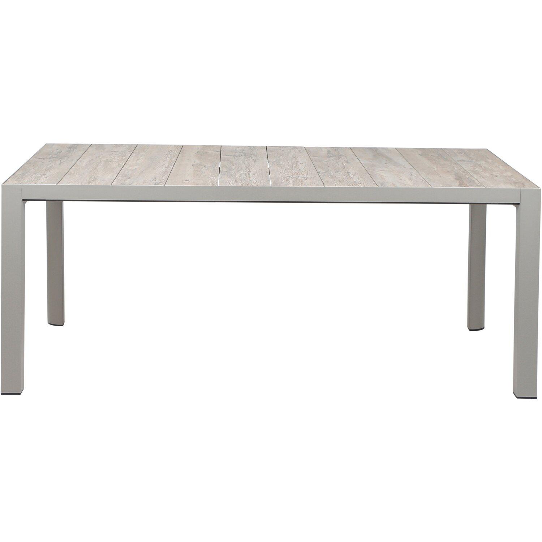 siena garden tisch silva matt silber 182 cm x 100 cm kaufen bei obi. Black Bedroom Furniture Sets. Home Design Ideas