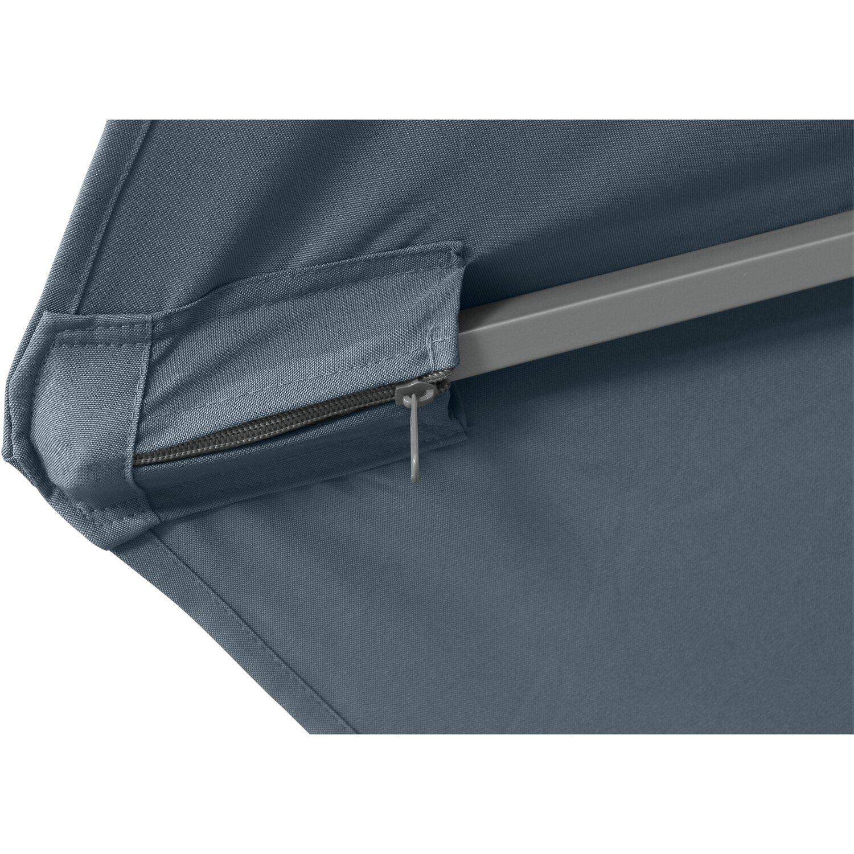siena garden ampelschirm montego grau 350 cm kaufen bei obi. Black Bedroom Furniture Sets. Home Design Ideas