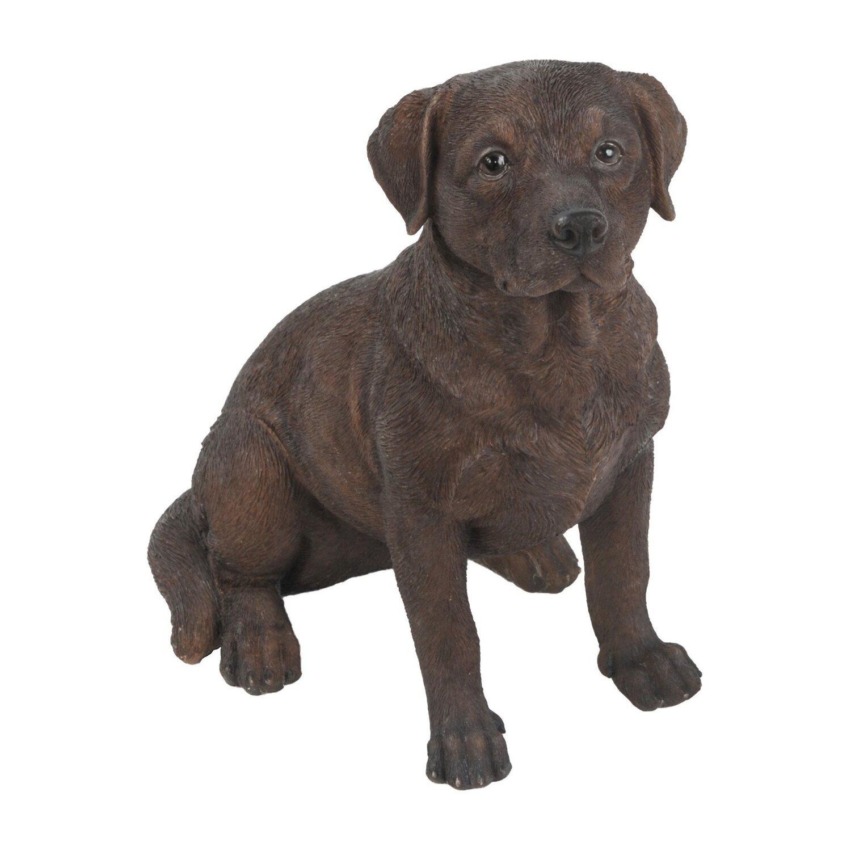 Hund Deko.Deko Figur Hund Labrador 21 Cm