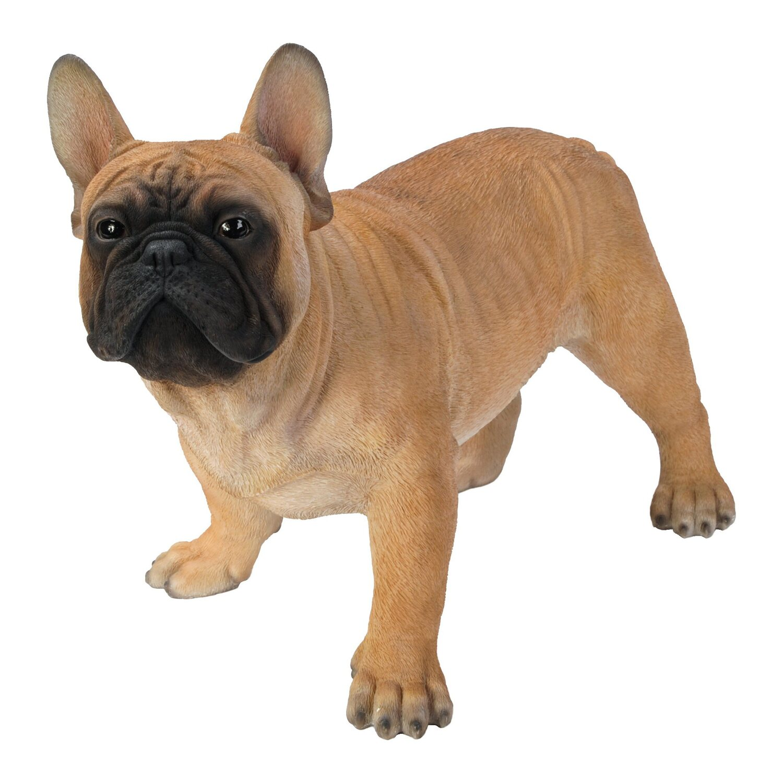 Hund Deko.Deko Figur Hund Bulldogge 50 Cm