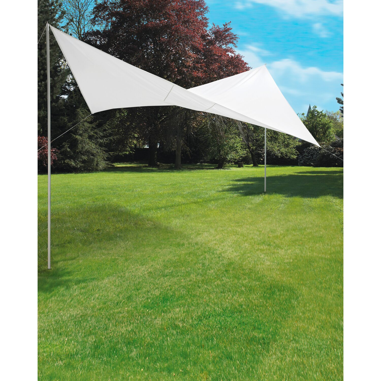 Und Sichtschutz 4 X 4 M Garten Sonnensegel Aus Polyester Sonnen