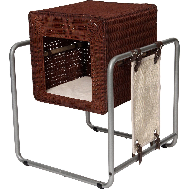Vesper Katzenhöhle Cube mit Stahlrohrrahmen Rattan kaufen bei OBI