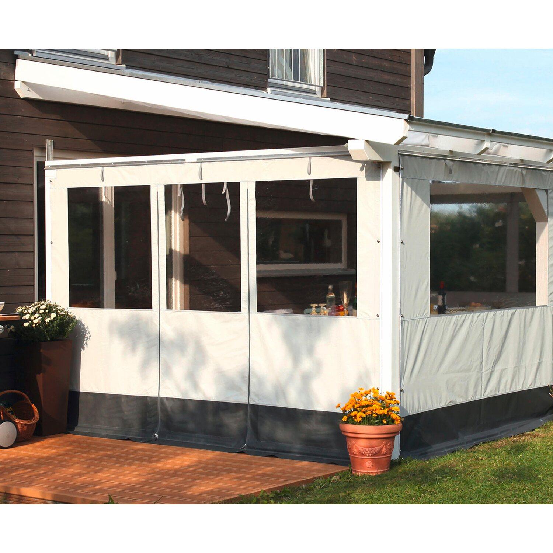 skan holz partyzeltwand seite mit t r f r terrassen berdachung 350 339 cm tiefe kaufen bei obi. Black Bedroom Furniture Sets. Home Design Ideas