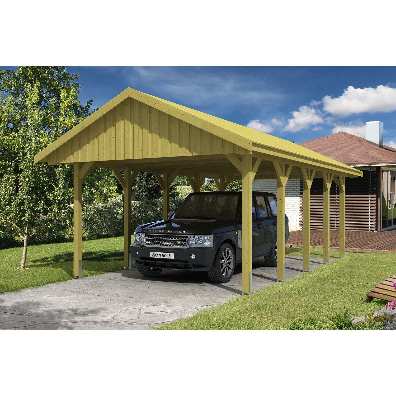 skan holz satteldach carport sauerland 430 cm x 750 cm dachschalung kaufen bei obi. Black Bedroom Furniture Sets. Home Design Ideas