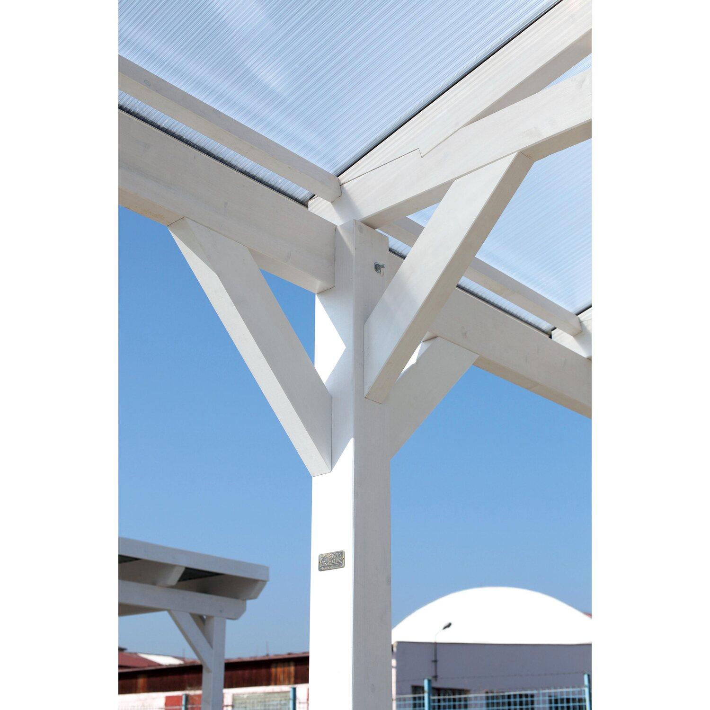 Skan Holz Satteldach-Carport Westerwald 362 cm x 541 cm gerade ...