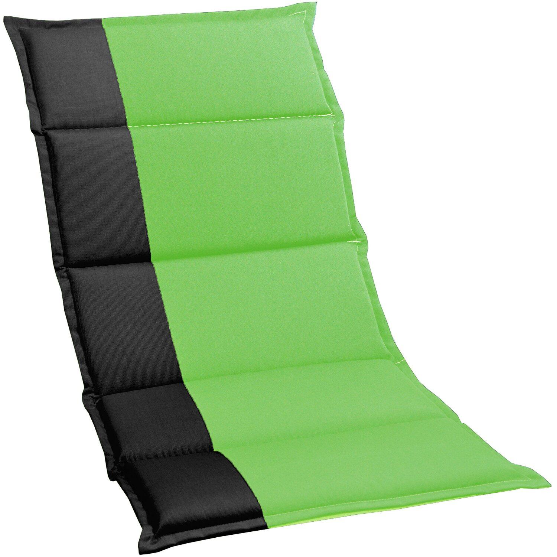 niederlehner auflage capri schwarz gr n kaufen bei obi. Black Bedroom Furniture Sets. Home Design Ideas