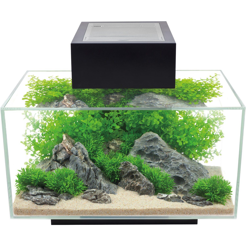 Fluval Edge 2.0 23 Liter Aquarium Set in Schwarz kaufen bei OBI