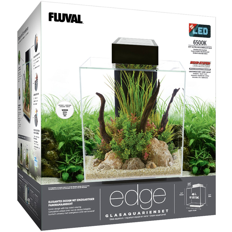 fluval aquarium set edge 2 0 led 46 l wei kaufen bei obi. Black Bedroom Furniture Sets. Home Design Ideas