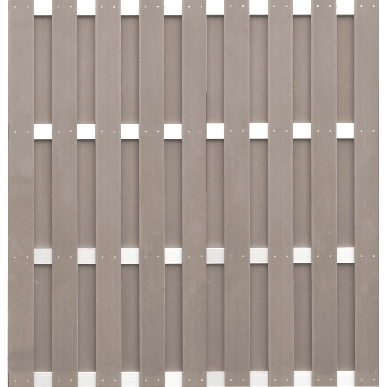 Dekorative Zaune Nishore Wpc Zaunelement Sichtschutz Zaun Mit 1