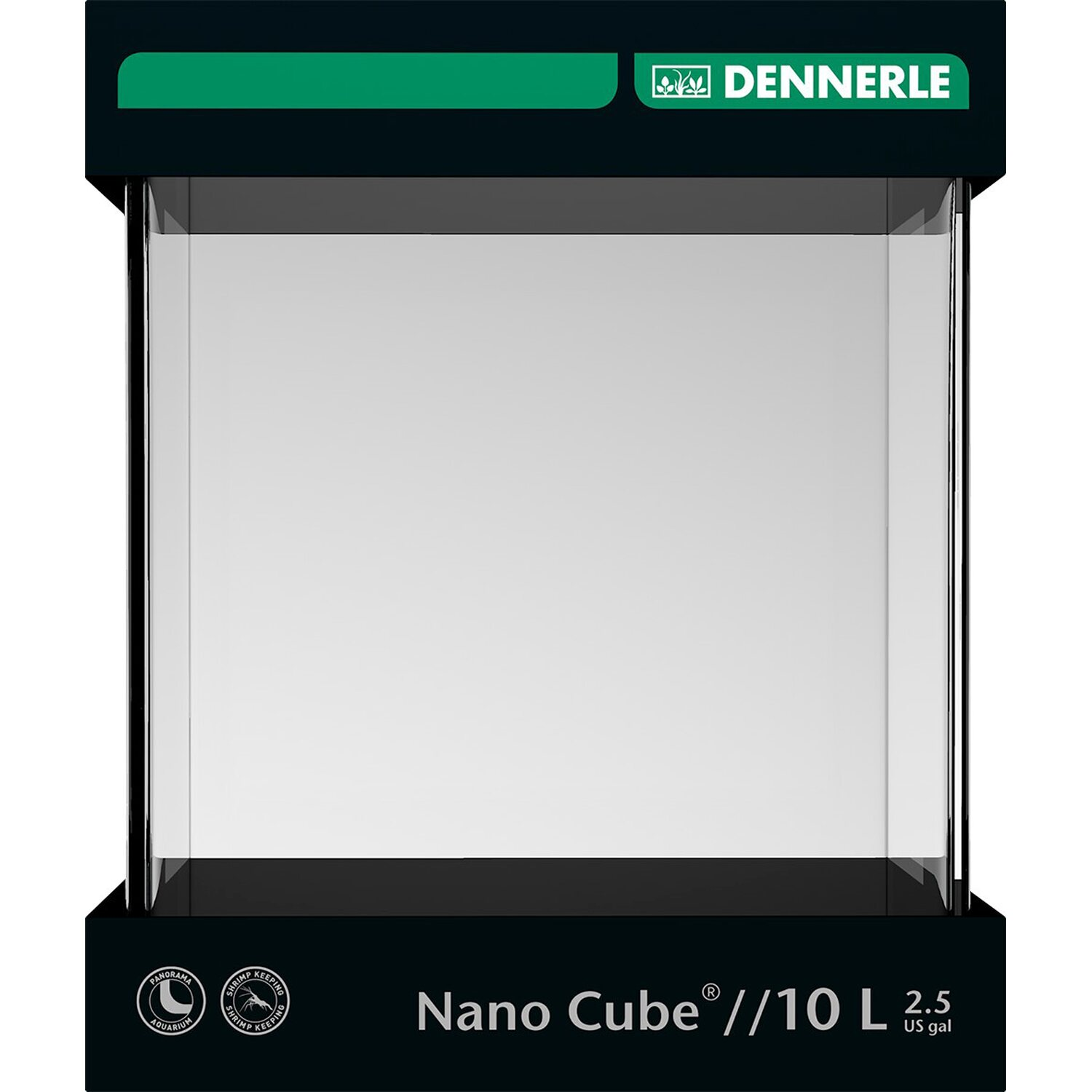 Dennerle Mini-Aquarium Nano Cube® 10 l
