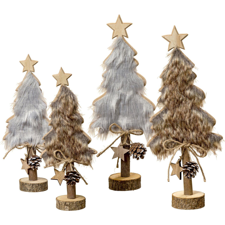 Weihnachtsdeko Hornbach.Deko Weihnachtsbaum Rika 30 Cm 2fach Sortiert