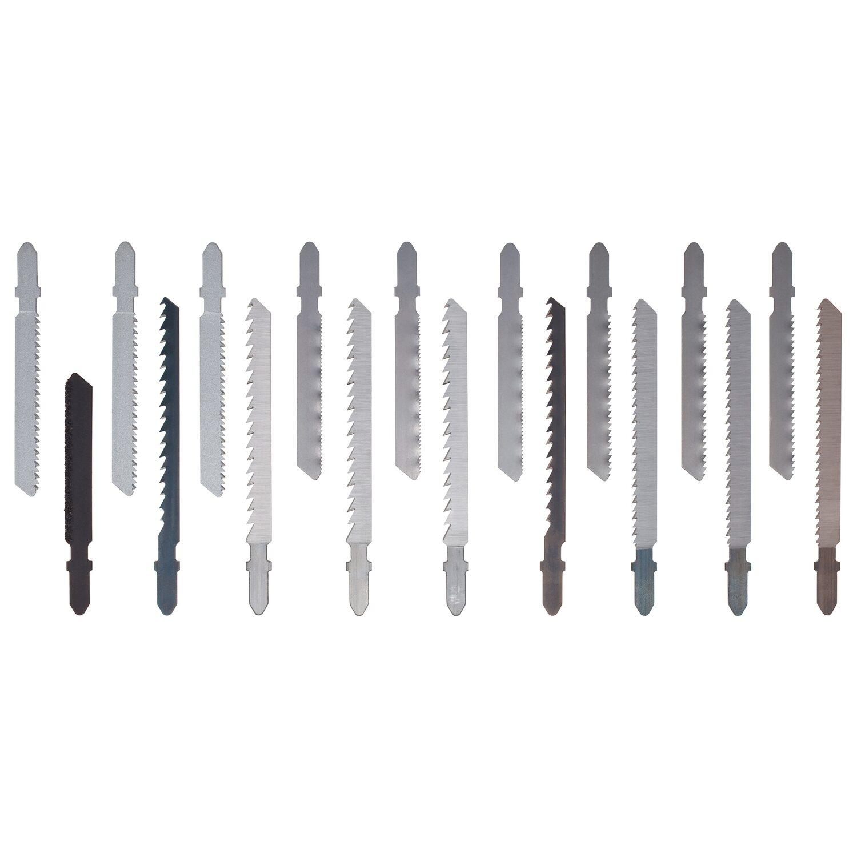 LUX-Tools Stichsägeblatt-Set T-Schaft 18-teilig