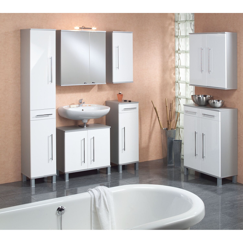 kesper spiegelschrank elba 65 cm alu kaufen bei obi. Black Bedroom Furniture Sets. Home Design Ideas