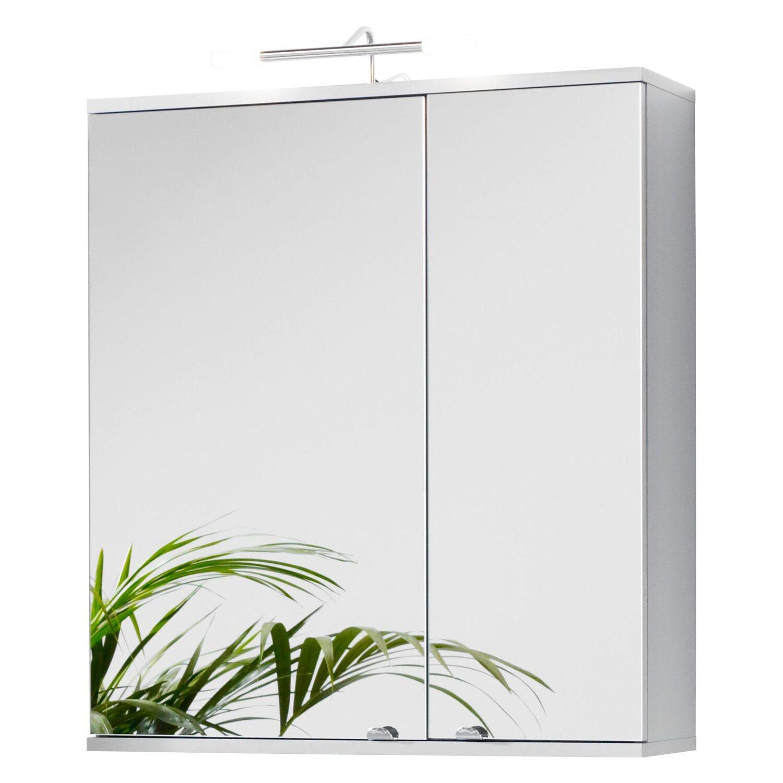 Kesper spiegelschrank elba 65 cm alu kaufen bei obi for Spiegelschrank obi