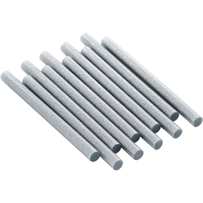 LUX Heißklebepatronen Silber Ø 11 mm 10 Stück