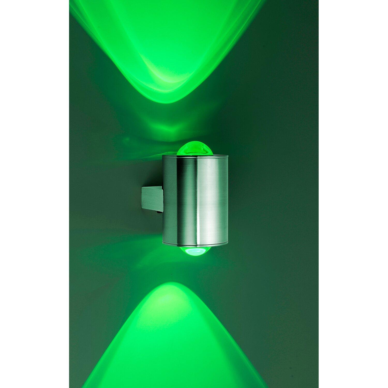 Paul Neuhaus LED-Außenwandleuchte Q-Sascha Dimmbar ZigBee RGB+W EEK ...