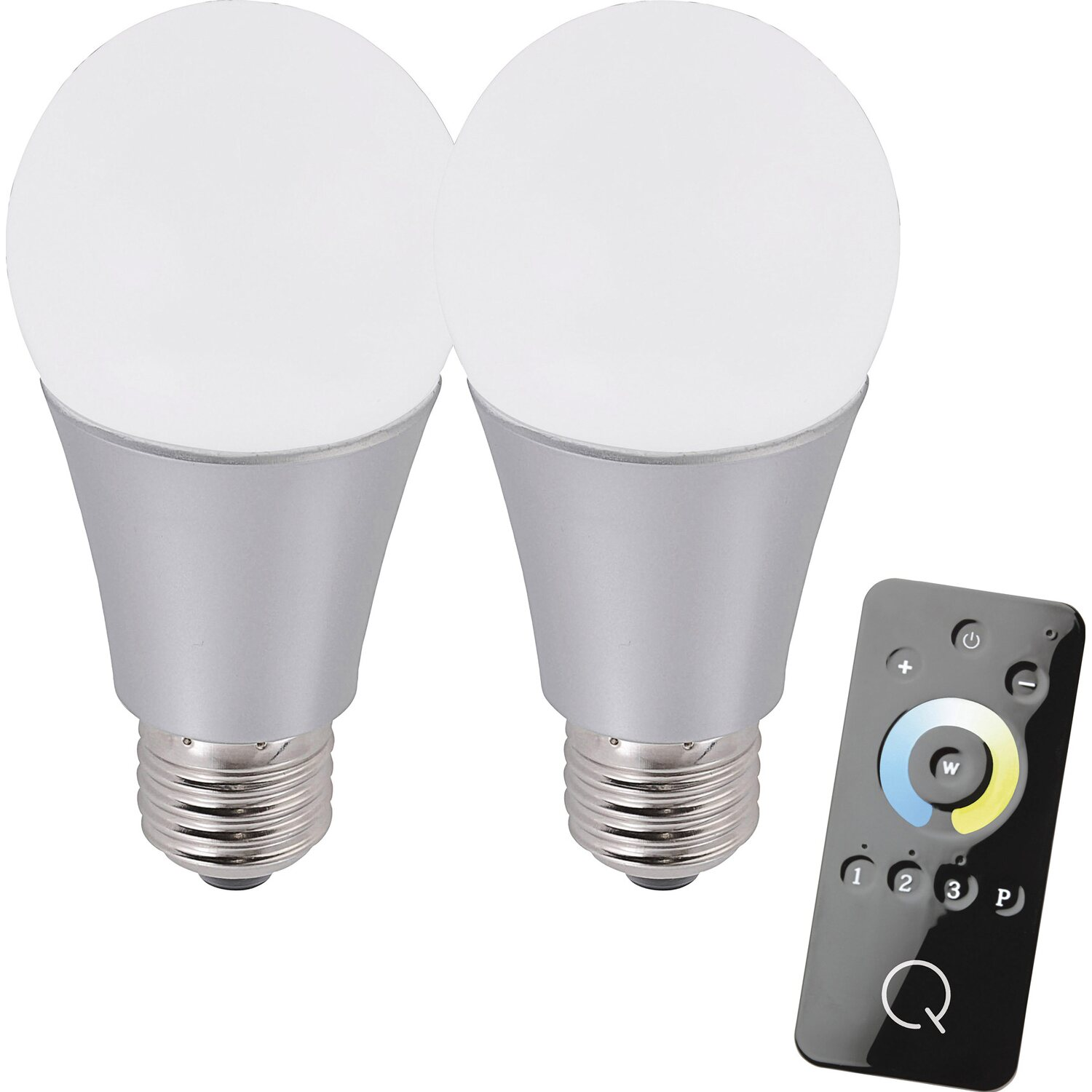 paul neuhaus q led leuchtmittel set e27 8 5 w zigbee cct tunable white eek a kaufen bei obi. Black Bedroom Furniture Sets. Home Design Ideas