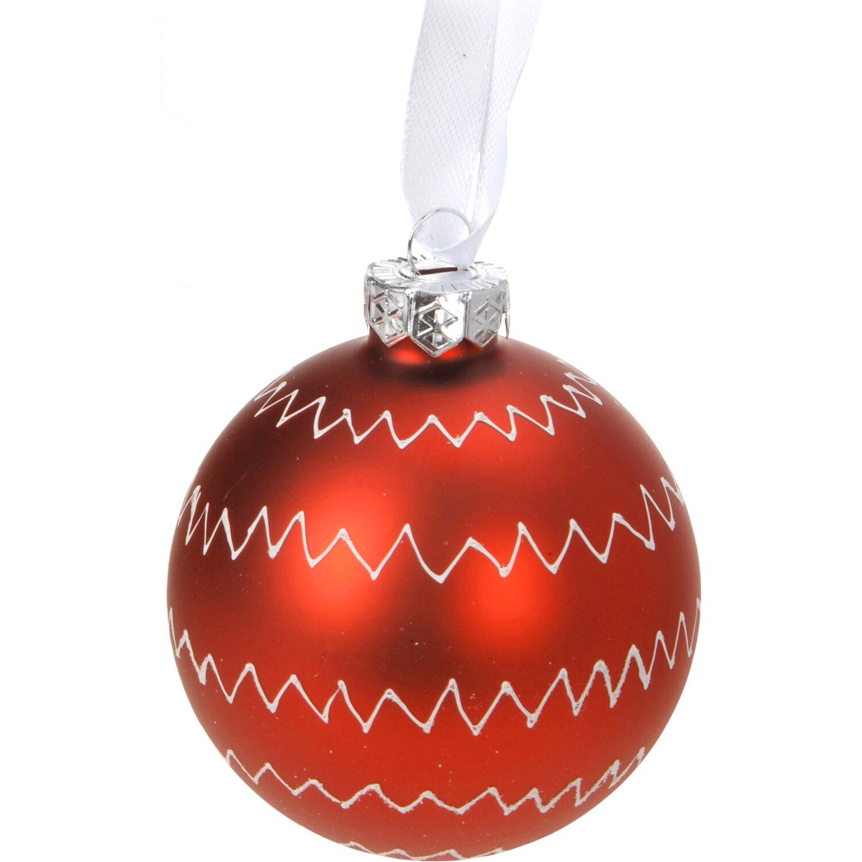Weihnachtsbaumkugel glas 7 cm 12fach sortiert kaufen bei obi - Obi weihnachtskugeln ...