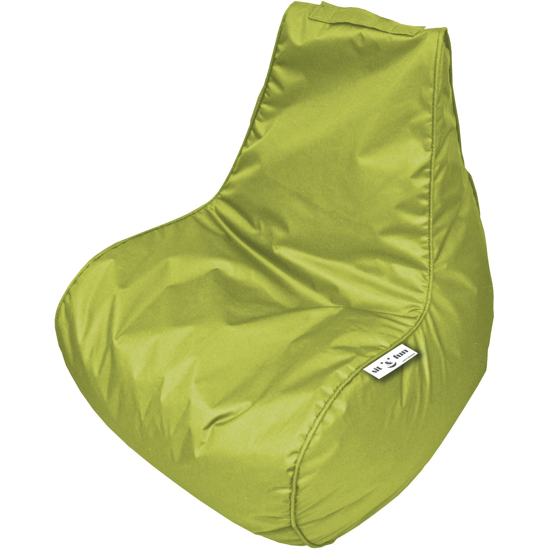 Bean Bag Lounge-Sitz Sit & Fun 66 cm x 77 cm x 81 cm Lime | Wohnzimmer > Sessel