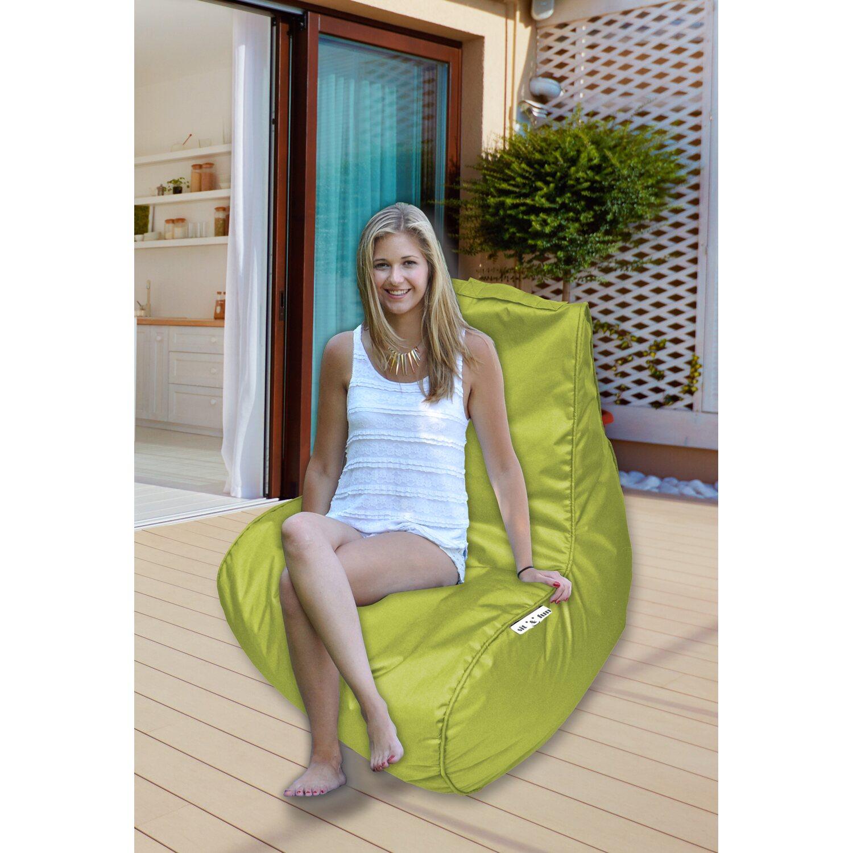 Bean Bag Lounge Sitz Sit Fun 66 Cm X 77 Cm X 81 Cm Lime Kaufen Bei Obi