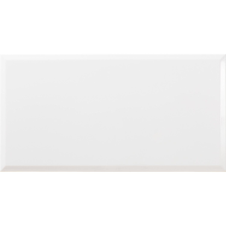 Metro Fliesen Obi: Wandfliese Facette Metro Weiß Glänzend 31,6 Cm X 60 Cm