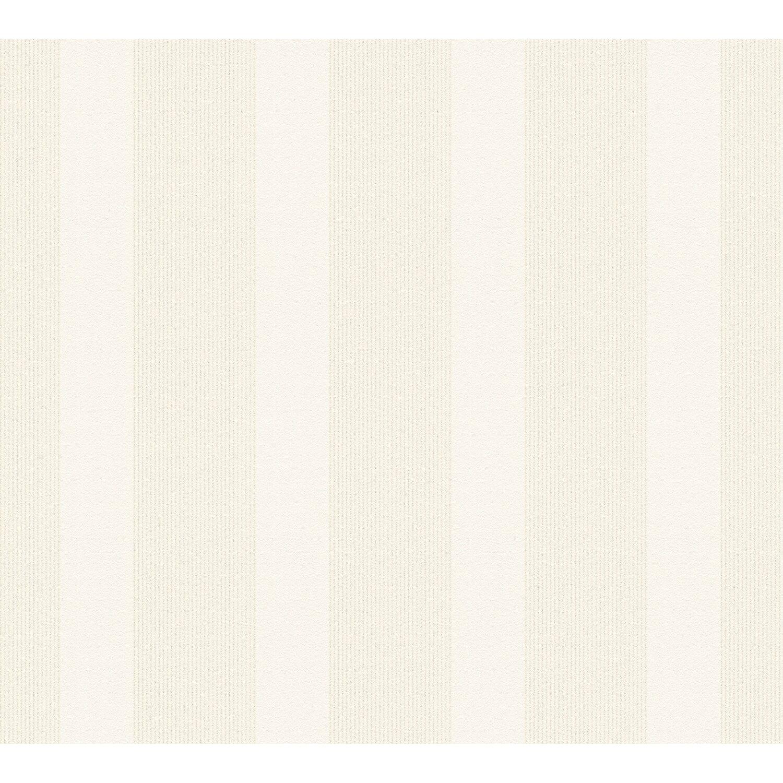 Esprit Home Vliestapete Artisan Fall Streifen Grau Beige