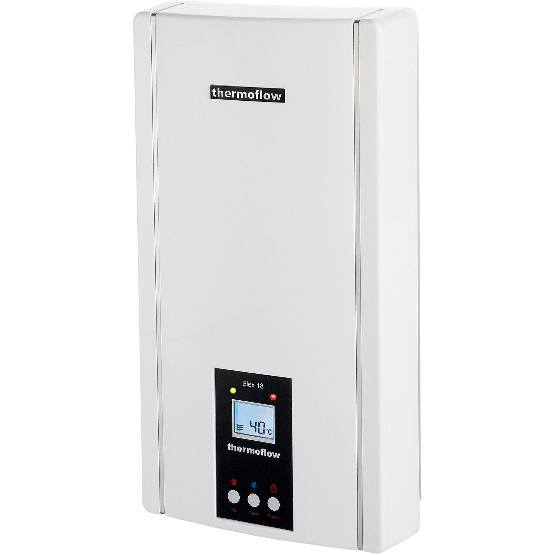 Thermoflow elektronischer Durchlauferhitzer Elex 18N EEK: A