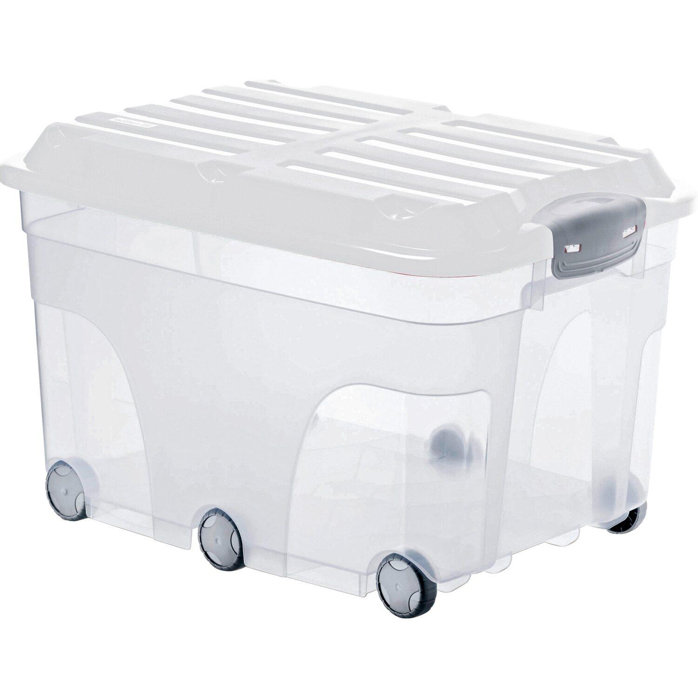 Trendig Rotho Universalbox Roller 6 Weiß 57 l kaufen bei OBI WT42