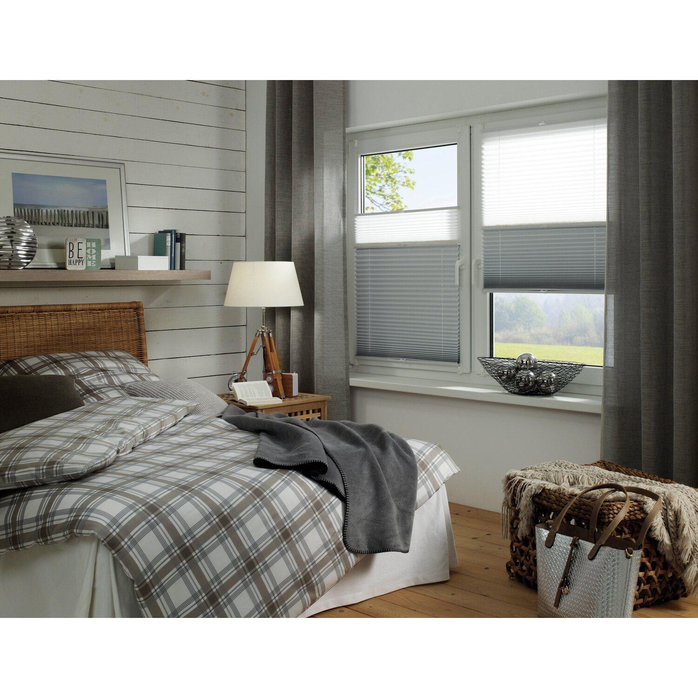 gardinia easy fix plissee tag und nacht wei 60 cm x 130 cm kaufen bei obi. Black Bedroom Furniture Sets. Home Design Ideas