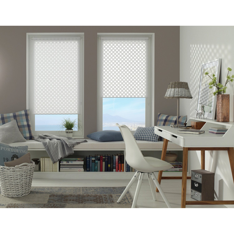 gardinia easy fix doppelrollo cut out quadrat wei 45 cm x 150 cm kaufen bei obi. Black Bedroom Furniture Sets. Home Design Ideas