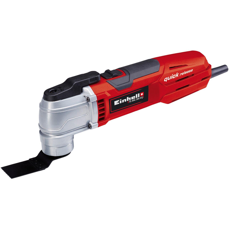 Einhell Multifunktionswerkzeug TE-MG 300 EQ Set | Baumarkt > Werkzeug > Werkzeug-Sets | Mg - Kunststoff - Metall - Holz | Einhell