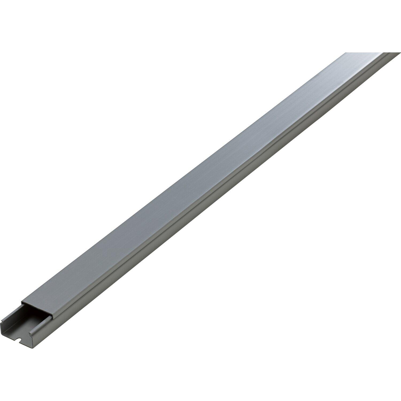 Kabelkanal 30 Mm X 15 Mm Silber Lange 2 M Kaufen Bei Obi