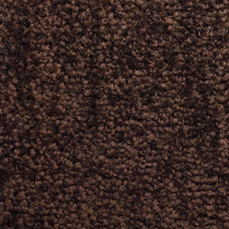 Teppich dunkelbraun  Teppichboden Estelle Dunkelbraun 500 cm breit kaufen bei OBI