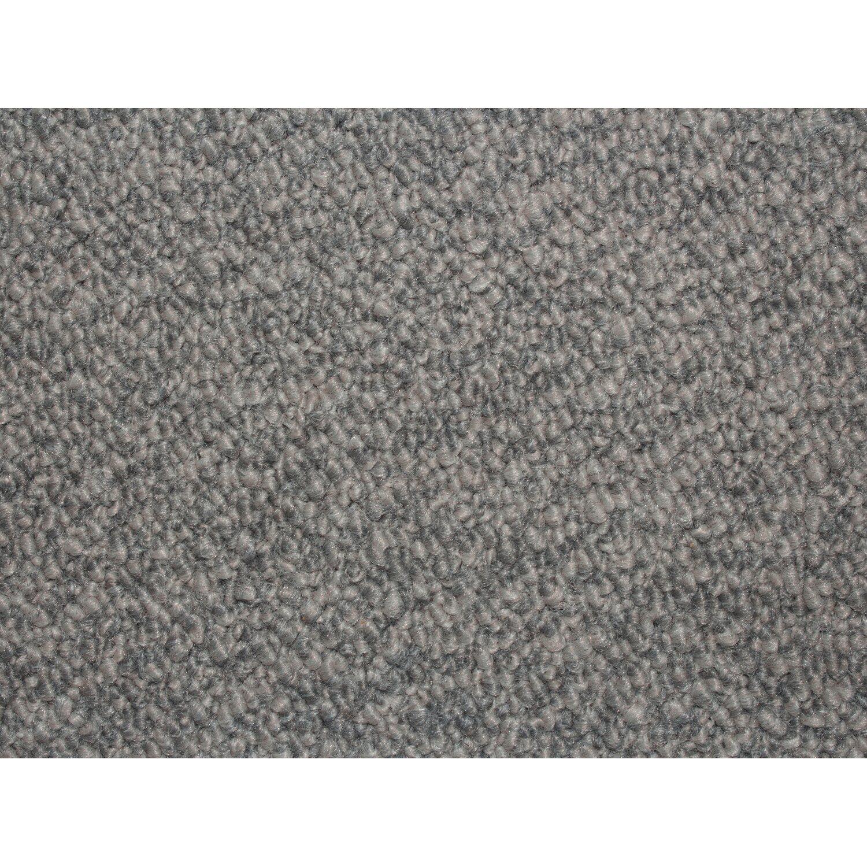 teppichboden minko grau 400 cm breit kaufen bei obi. Black Bedroom Furniture Sets. Home Design Ideas