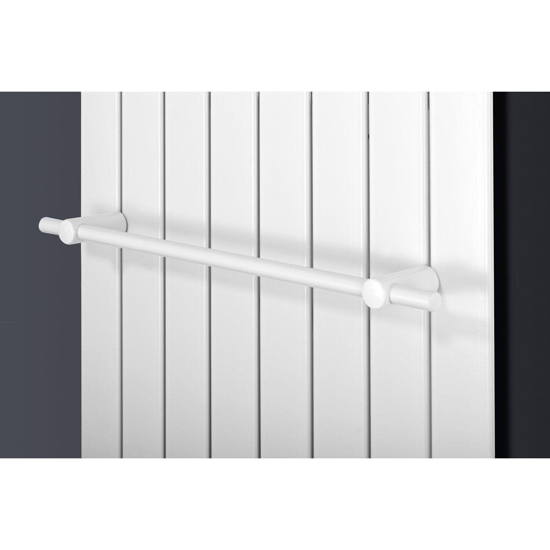 Wei/ß Handtuchhalter Stange 400 mm gerade