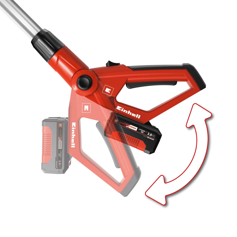 einhell akku teleskop heckenschere ge hh 18 45 li t solo power x change kaufen bei obi. Black Bedroom Furniture Sets. Home Design Ideas