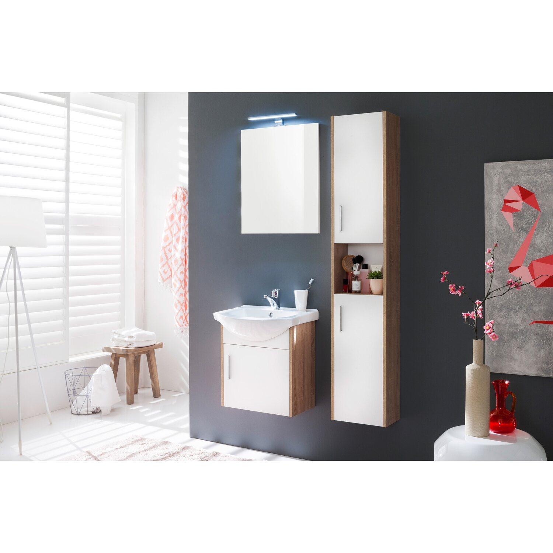 Spiegel 50 cm jersey wei eiche s gerau kaufen bei obi - Spiegel zuschnitt obi ...