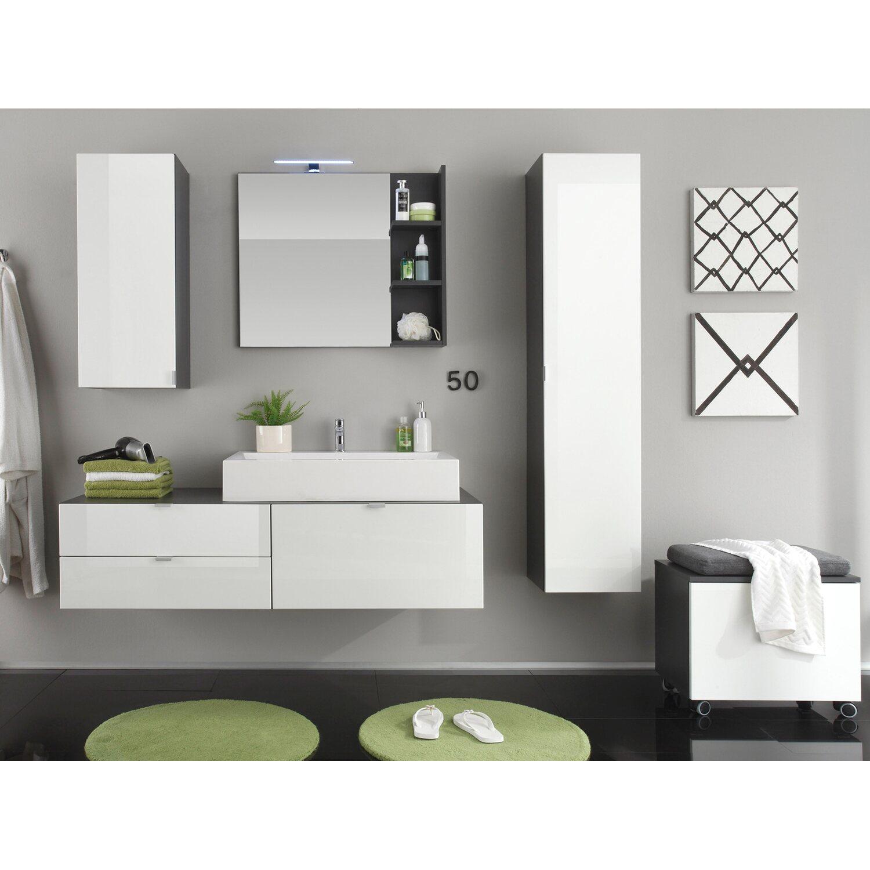 badm bel set beach wei grau 4 teilig 189 cm inkl. Black Bedroom Furniture Sets. Home Design Ideas