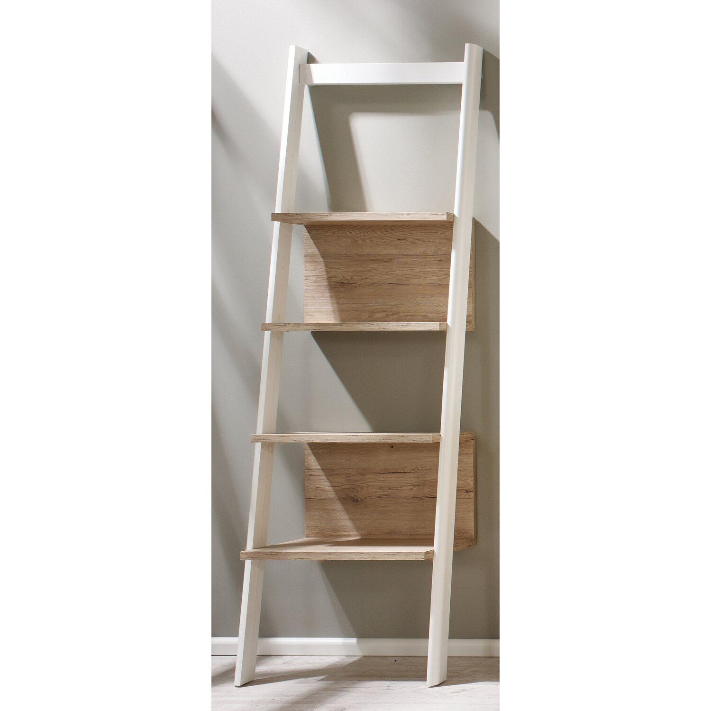 leiterregal seven wei eiche san remo 55 cm kaufen bei obi. Black Bedroom Furniture Sets. Home Design Ideas