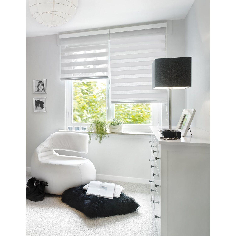 Gut Gardinia Doppelrollo 140 cm x 160 cm Weiß kaufen bei OBI SI94
