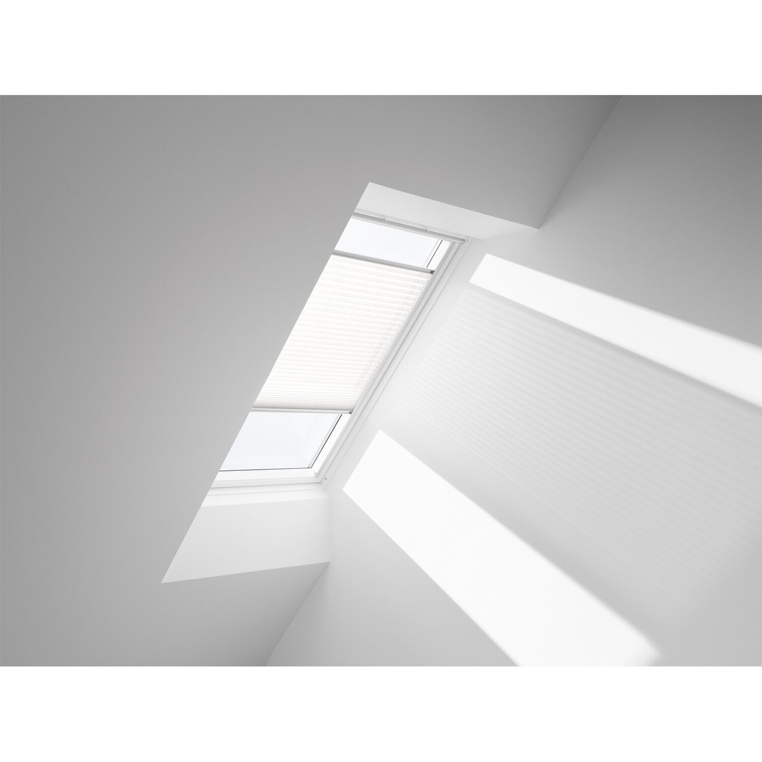 Velux Plissee Manuell FHL C06 1016S Weiss