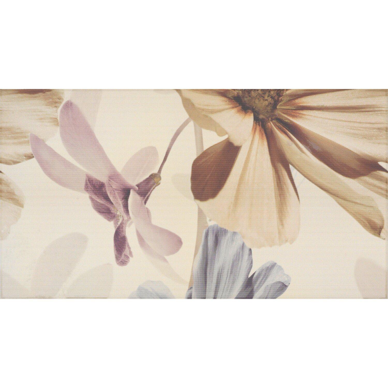 Sonstige 1er Volldekor Infinity Crema Flor 1 32,5 cm x 60 cm