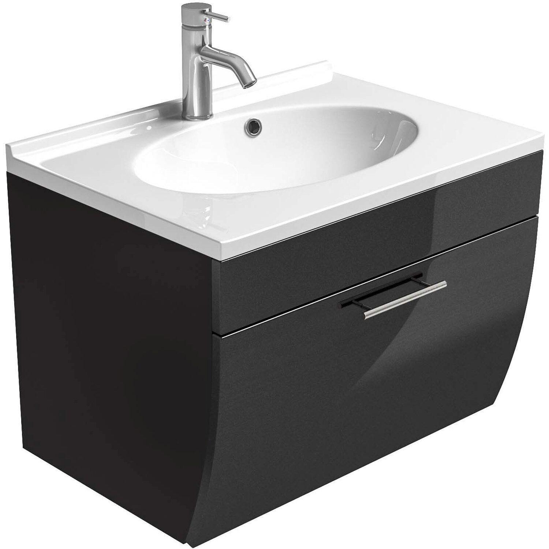 posseik waschplatz 70 cm salona anthrazit kaufen bei obi. Black Bedroom Furniture Sets. Home Design Ideas
